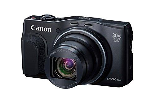 Canon デジタルカメラ PowerShot SX710 HS ブラック 光学30倍ズーム
