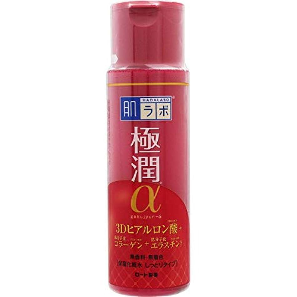 シャッフル有益なタービン【まとめ買い】肌ラボ 極潤α ハリ化粧水しっとりタイプ 170ml×7個