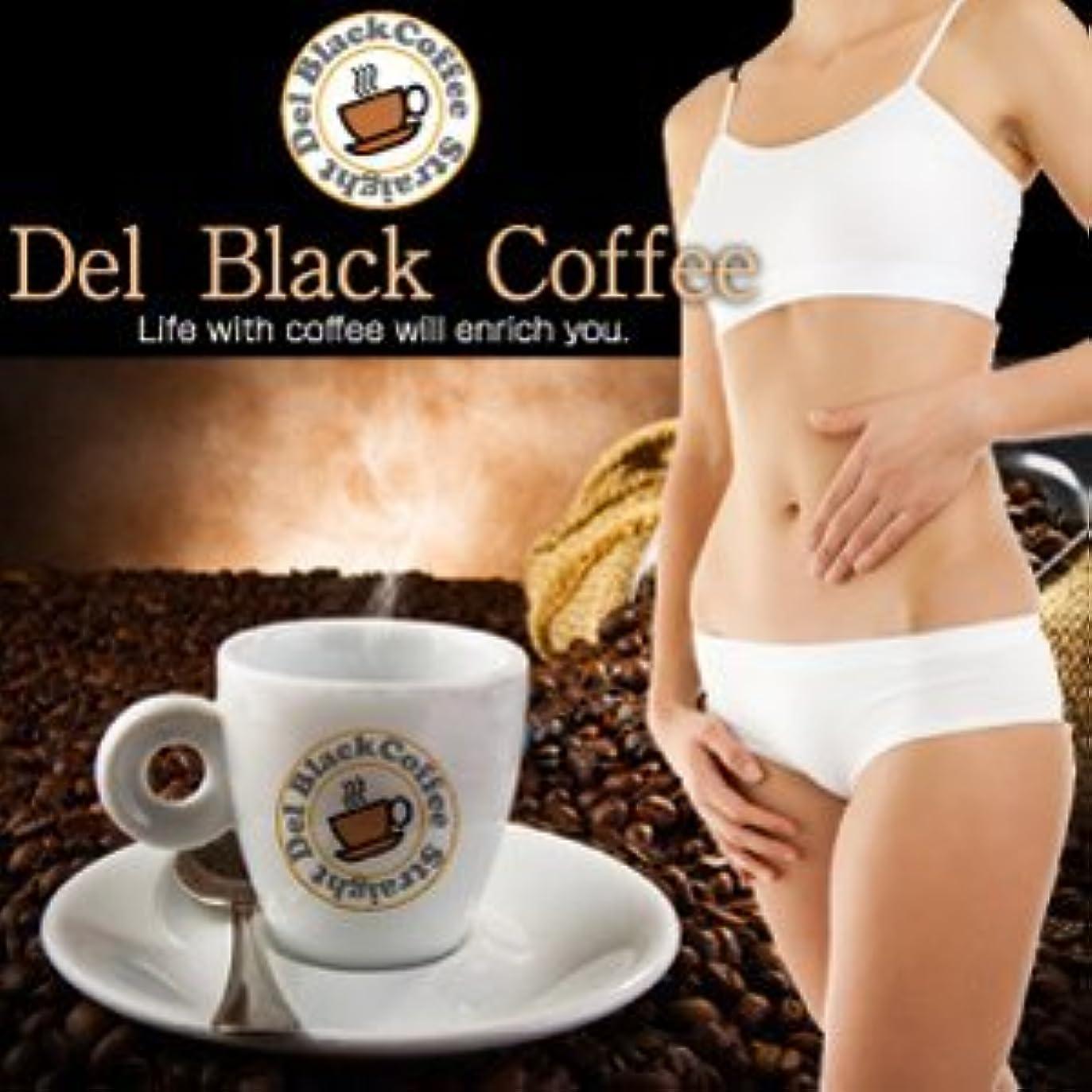 九チャーターストリップデルブラックコーヒー