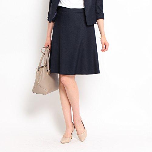 (クード シャンス) COUP DE CHANCE (洗える)ドビー台形スカート 18772502