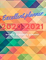 Excellent planner for 2020-2021 weekly and monthly planner