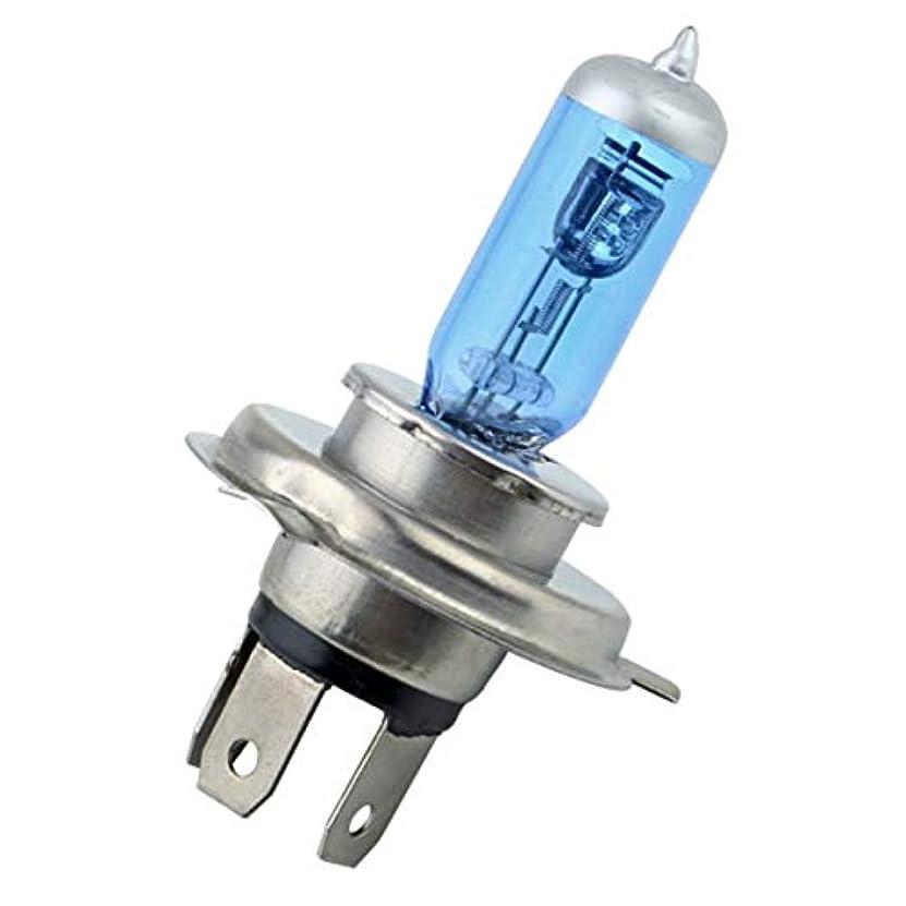 感度改善法律H4 12Vスーパーホワイトフォグランプハロゲンバルブハイパワー車のヘッドライトのランプ