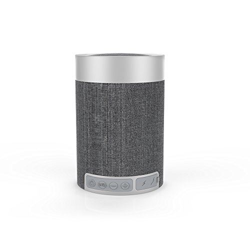 Bluetooth スピーカー コンパクト Bluetooth4.2 8時間/マイク搭載/ワイヤレス ブルートゥース グレー