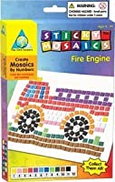 FIRE ENGINE STICKY MOSAICS by The Orb Factory [Toy] by The Orb Factory [並行輸入品]