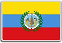 3rd Flag Of Gran Colombia (1821), Gran Colombia Historic Flags fridge magnet - 蜀キ阡オ蠎ォ逕ィ繝槭げ繝阪ャ繝