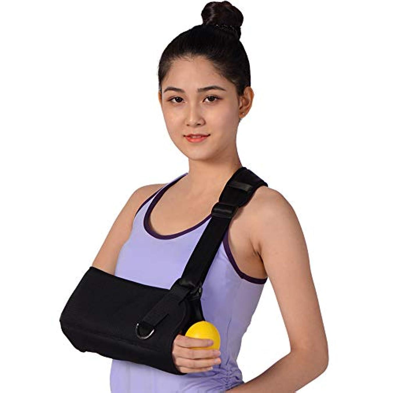 世界的に便利関係肩外転スリング、怪我サポート用イモビライザー、回旋腱板用痛み緩和アーム枕、サブレキシオン、手術、脱臼、骨折した腕,M