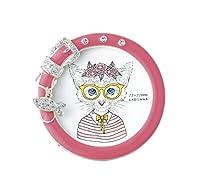 LADONNA リビングフレーム ネコさかなチャームフレーム ミニサイズ ピンク PET20-PK