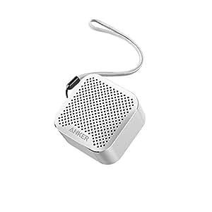 Anker SoundCore nano 超コンパクト Bluetoothスピーカー 【高品質アルミ外装 / 内蔵マイク搭載】(シルバー)