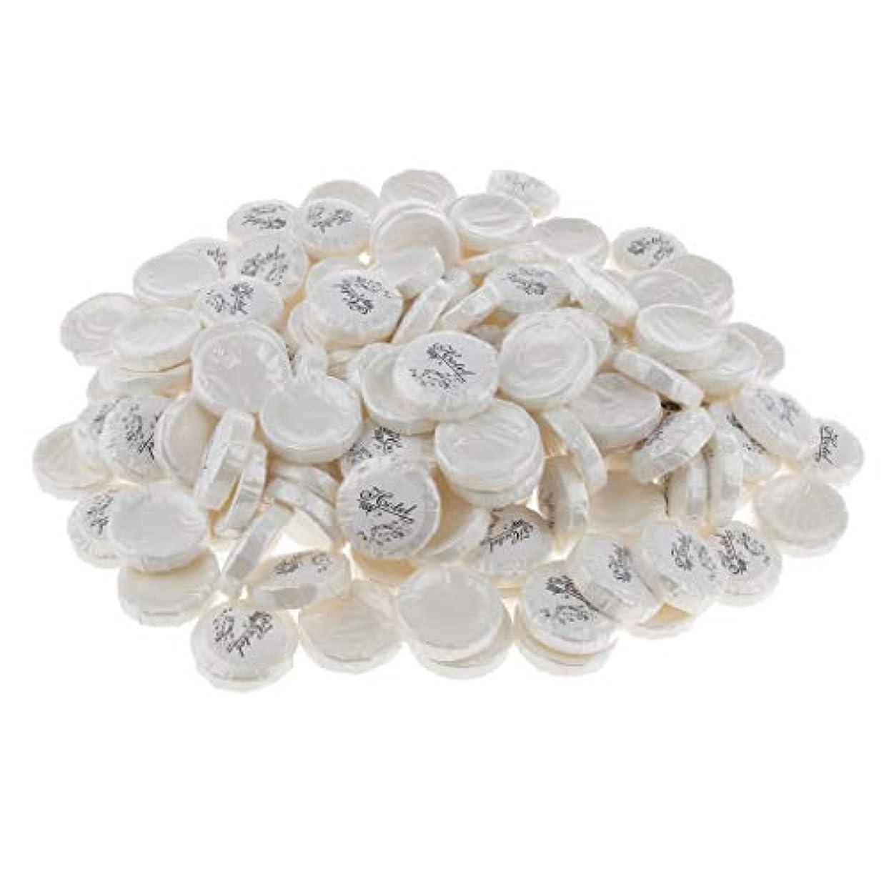 Hellery 石鹸 無添加 洗顔石鹸 植物油 軽い香り 清潔 リフレッシュ ミニサイズ 携帯 旅行用 約150個 - 9g