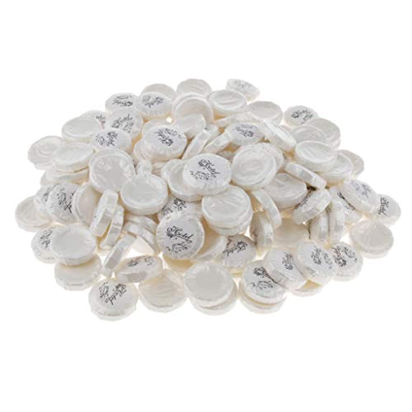 排泄する瞑想指紋Hellery 石鹸 無添加 洗顔石鹸 植物油 軽い香り 清潔 リフレッシュ ミニサイズ 携帯 旅行用 約150個 - 9g