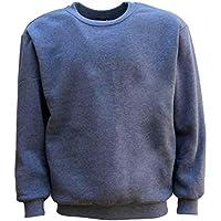 Zmart Australia New Adult Unisex Plain Pullover Fleece Jumper Mens Long Sleeve Crew Neck Sweater