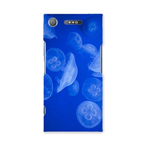 7b47698478 XPERIA XZ1 SOV36 ケース カバー スマコレ スマホケース オリジナルスマートフォンケース ハンドメイド 携帯ケース【print】sov36  くらげ 海 写真 pc XPERIA XZ1 ...