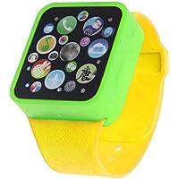 子子供おもちゃインテリジェンス教育Developmentalスマート腕時計学習Touching画面ゲーム イエロー Dreamen-0704-13