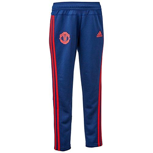 (アディダス)adidas KIDS マンチェスターユナイテッドFC トレーニング パンツ APU87 AC1501 ダークブルー/スカーレット 160