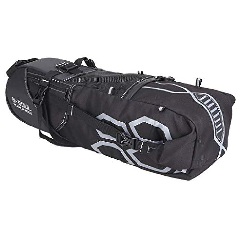 開業医蓋残りPerfeclan 12L サドルバッグ 自転車 バッグ ロードバイク クロスバイク ストラップ式 撥水 コンパクト 軽量