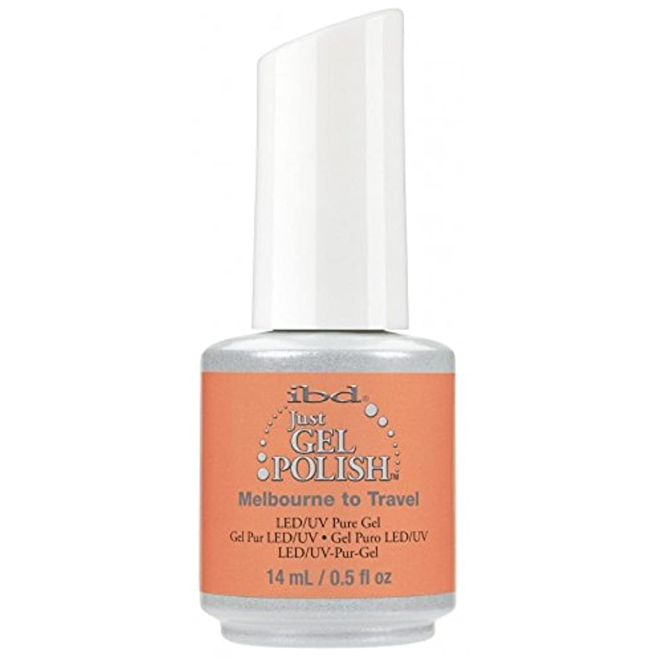 敬意バンカーでibd Just Gel Nail Polish - Summer 2017 Destination Colour Collection - Melbourne to Travel - 14ml / 0.5oz