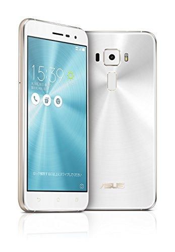 ASUS ZenFone3 SIMフリースマートフォン (ホワイト/5.2インチ)【日本正規代理店品】(オクタコアCPU/3GB/32GB/DSDS & au VoLTE対応) ZE520KL-WH32S3/A