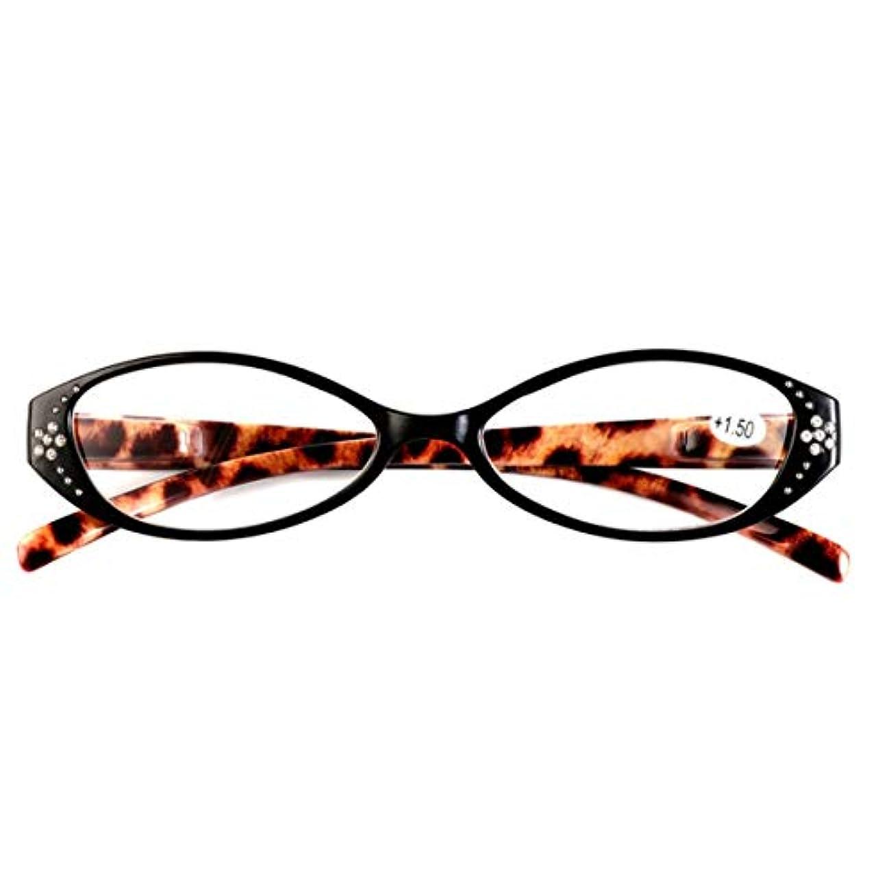 納税者ナプキン協力Intercorey YL-6452ファ??ッションヒョウキャットアイ老眼鏡老眼老眼鏡女性老眼メガネ