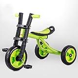 古典的な三輪車と古典的な三輪車すべての地形の歩行Trike地形三輪車(ピンク/青/緑) ( Color : 3 )
