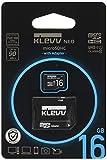 エッセンコア クレブ microSDHC メモリカード 16GB Class10 UHS-I SD 変換アダプタ 付属 永久保証 U016GUC1U18-DK