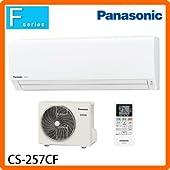 Panasonic(パナソニック) ルームエアコン Eolia(エオリア) Fシリーズ おもに8畳用 2017年モデル ホワイト CS-257CF-W