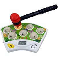 Whac A Mole Hammer Toy Electronic Game for Kids [並行輸入品]