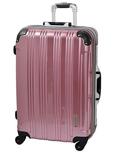 S(19)型 フレグランス / ミラーKingdom 機内持込 スーツケース キャリーバッグ TSAロック搭載 超軽量 (1~3日用)