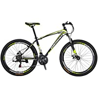 Extrbici X1 マウンテンバイク MTB 自転車 27.5インチ アルミフレーム シマノ21段変速 ディスクブレ-キ