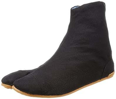 力王 祭り足袋 エアー足袋フィット 5枚コハゼ 黒 23.0cm ACF5