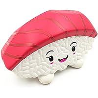 cinhent 1pc Squishy日本語寿司ライスボール香りつきSqueeze Slow Rising FunシミュレーションおもちゃCureギフト