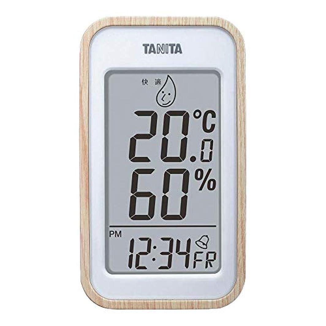 単なるそのロバタニタ デジタル温湿度計 ナチュラル TT-572NA