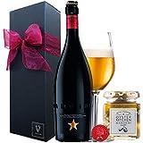 誕生日プレゼント 【イネディット750ml 】【ビールと広島牡蠣のオイル漬】ギフト ボックス リボン包装 (牡蠣のアヒージョ)