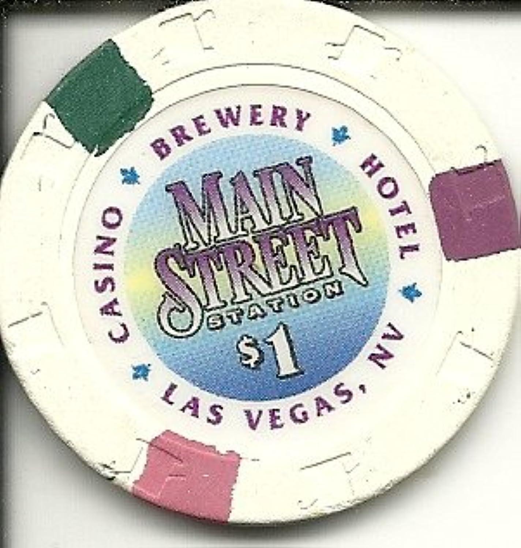 $ 1メインストリートラスベガスカジノチップ