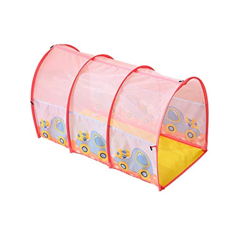 ポータブル屋内の安定した子供ヘビーデューティフェンス、アーチドトンネルチューブ安全プレイセンターヤード