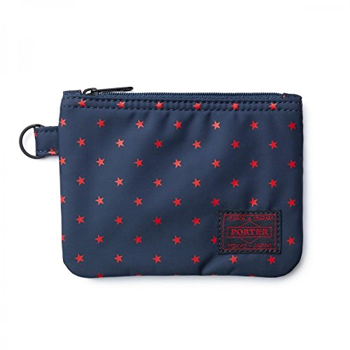 (ヘッド・ポーター) HEADPORTER STELLAR ZIP WALLET NAVY