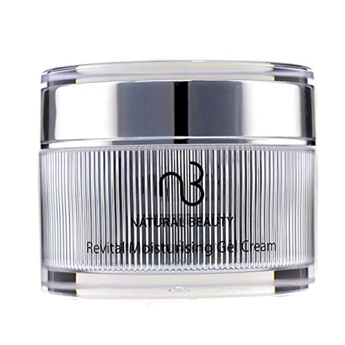 おんどり愚かスリル自然の美 リバイタルモイスチャライジングジェルクリーム Natural Beauty Revital Moisturising Gel Cream 50ml/1.7oz並行輸入品