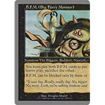 英語版 アングルード Unglued UGL B.F.M. (Big Furry Monster) - Left マジック・ザ・ギャザリング mtg