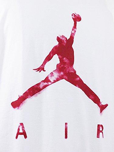 (Jordan)ジョーダン Jumpman Air Dreams Tシャツ (XXXL, 白赤) [並行輸入品]