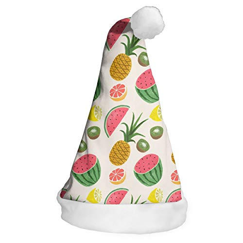 パイナップル スイカ フルーツ クリスマス ハット グローイングギフト玩具 小物飾り パーティー サ...