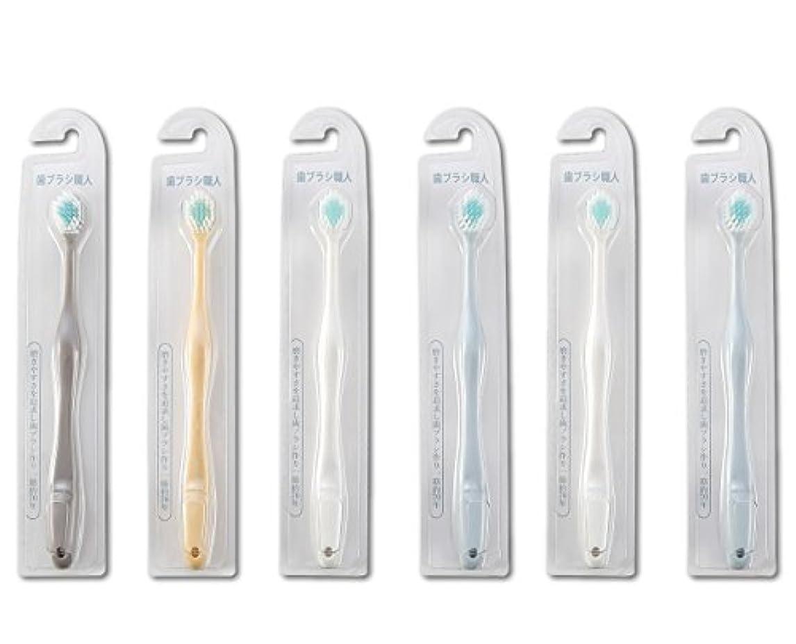 反逆前述の不運歯ブラシ職人Artooth ® 田辺重吉 磨きやすい歯ブラシ ワイド 6列レギュラー AT-30 (6本組)
