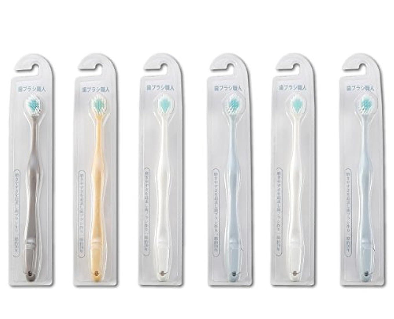 干渉する補助弱まる歯ブラシ職人Artooth ® 田辺重吉 磨きやすい歯ブラシ ワイド 6列レギュラー AT-30 (6本組)