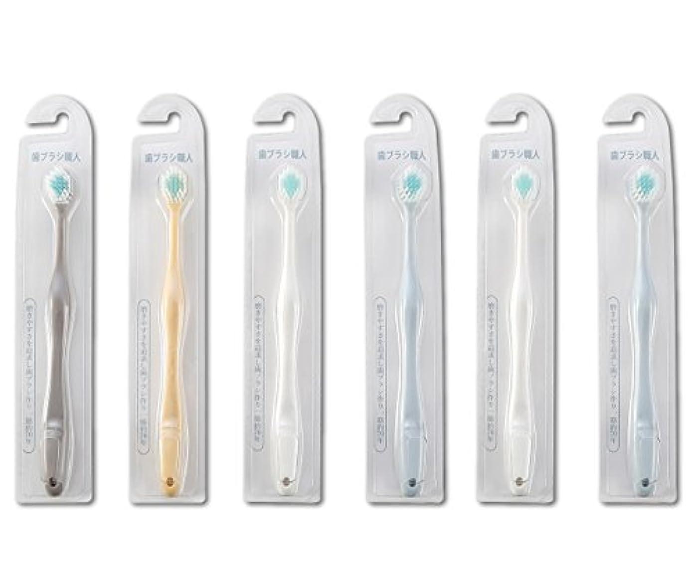 だます取り出すのみ歯ブラシ職人Artooth ® 田辺重吉 磨きやすい歯ブラシ ワイド 6列レギュラー AT-30 (6本組)