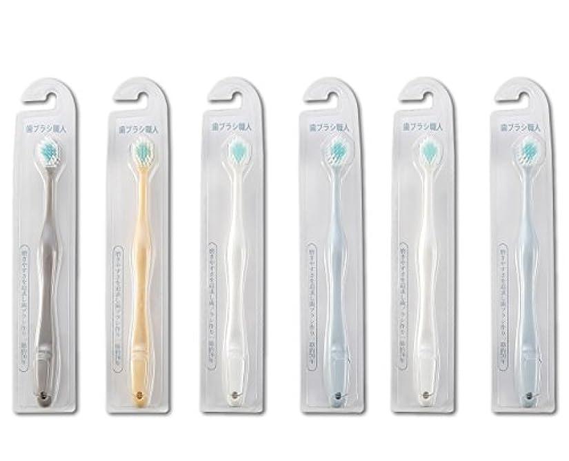 誓い排気軽蔑する歯ブラシ職人Artooth ® 田辺重吉 磨きやすい歯ブラシ ワイド 6列レギュラー AT-30 (6本組)