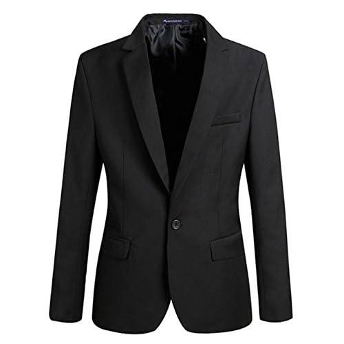 (シャンディニー) Chandeny おしゃれ テーラード ジャケット メンズ きれいめ カジュアル スーツ オールシーズン 10847 ブラック L サイズ
