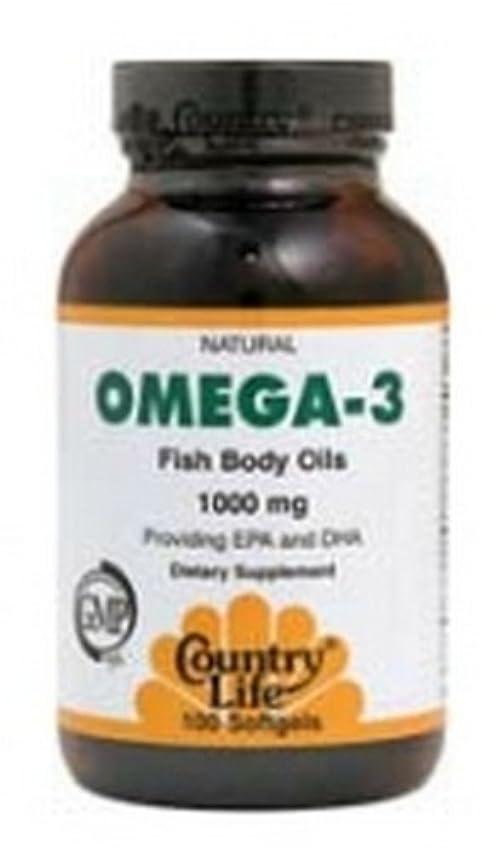胚芽免除数学的なオメガ3魚油 200錠