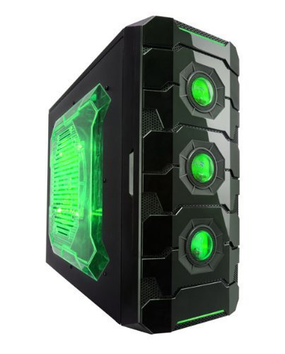 Apevia ATX Mid Tower PC Gaming...