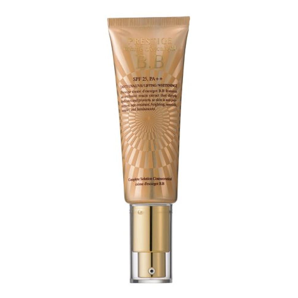 弱点カーテン美容師It's skin(イッツスキン) かたつむり成分配合 プレステージ クリーム エスカルゴ BB SPF25 PA++ EGF 50ml
