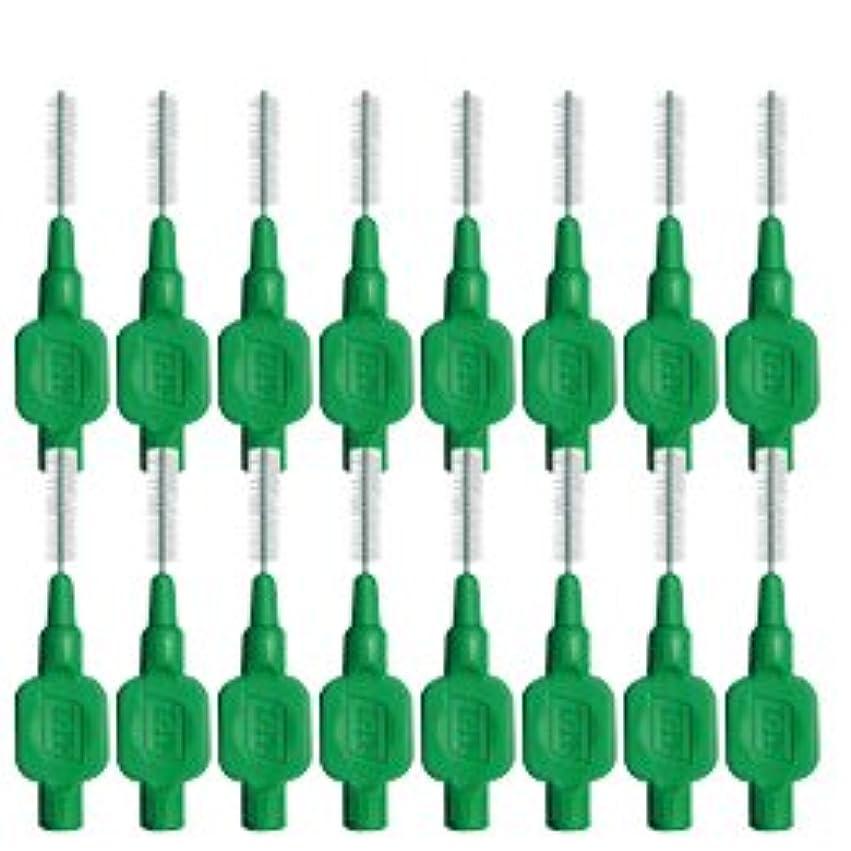 受動的拡張仮称テペ(TePe) 歯間ブラシ 8本入 × 2個 グリーン(0.8mm)