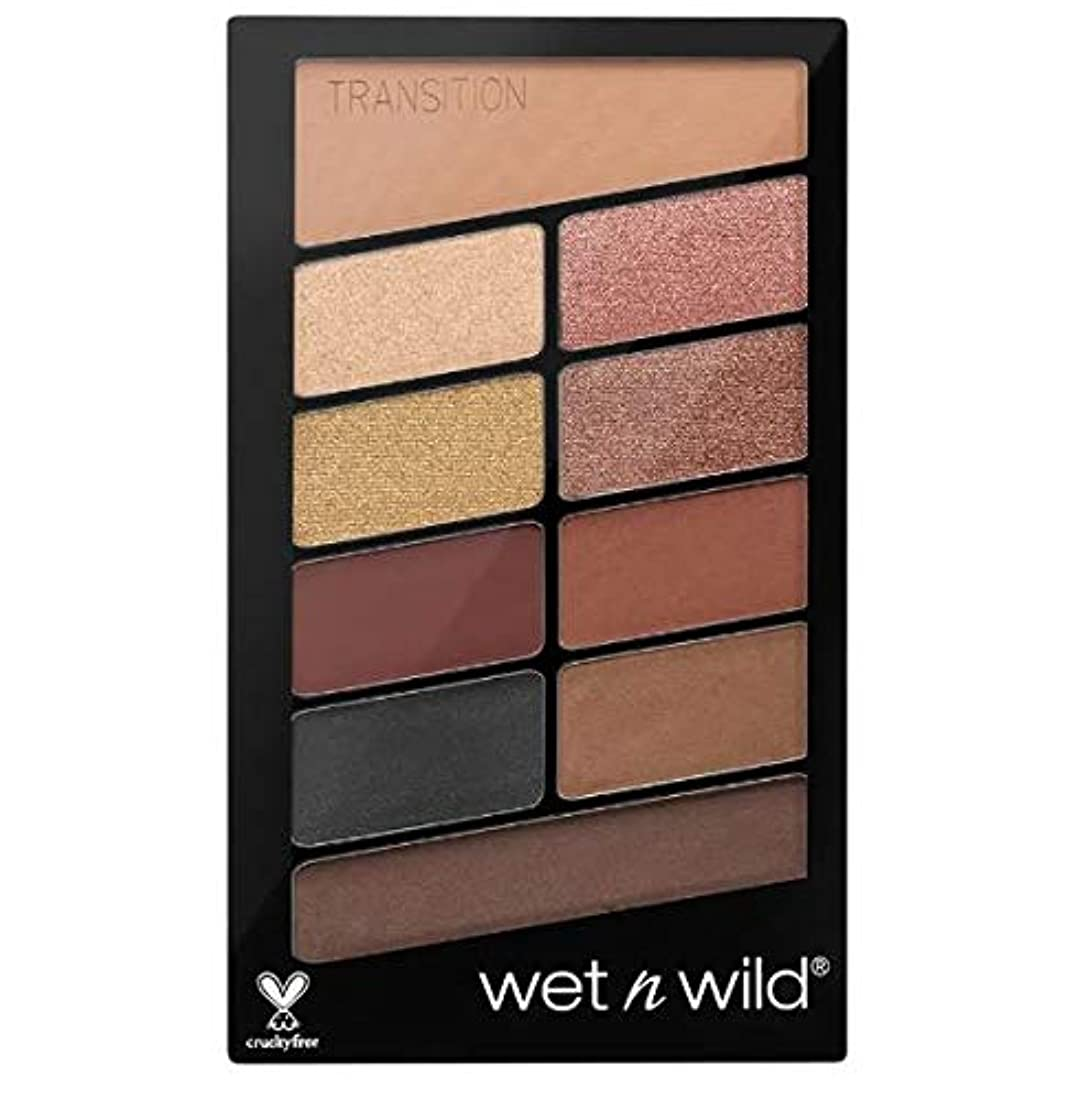 乞食面倒ボルトWet N Wild Color Icon Eyeshadow 10 Pan Palette (My Glamour Squad) 海外直送 [並行輸入品]