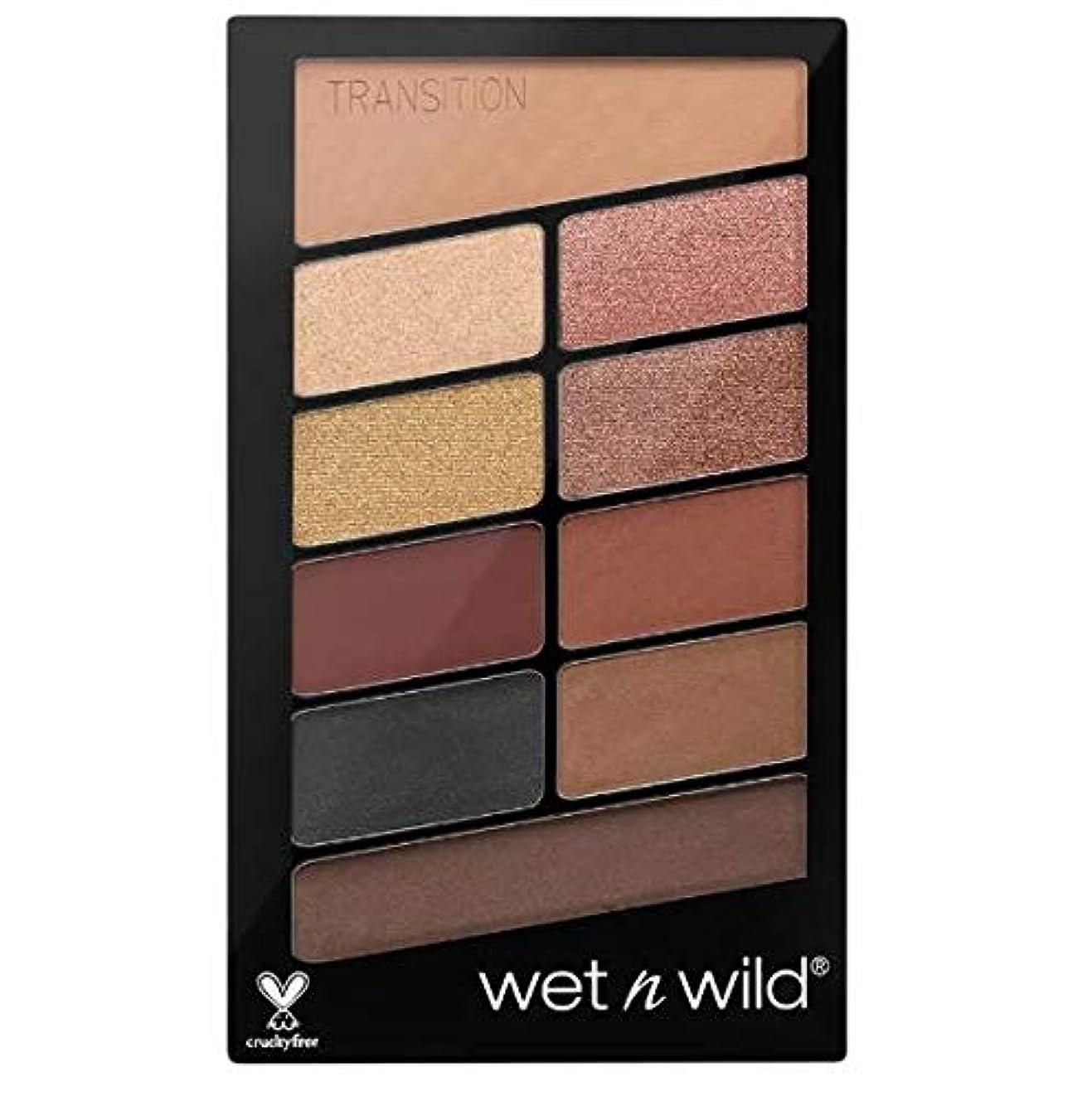 喜んで水曜日遺棄されたWet N Wild Color Icon Eyeshadow 10 Pan Palette (My Glamour Squad) 海外直送 [並行輸入品]